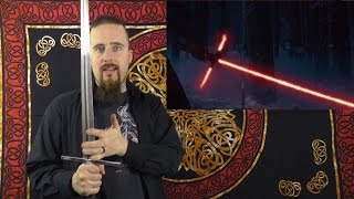 My opinion on the lightsaber crossguard from the new Star Wars trailer
