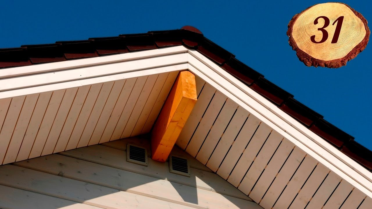 Подшивка карниза крыши своими руками Строительный портал 78