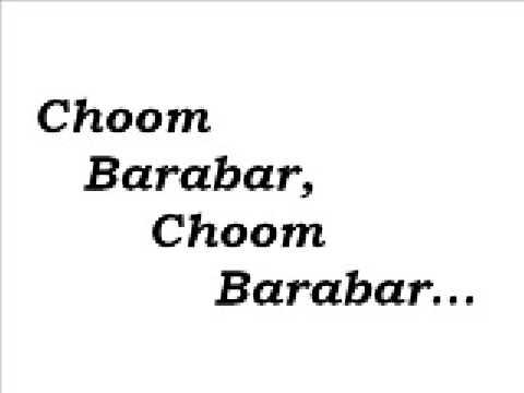 Harami Urdu Qawwali Gana - Choom Barabar video