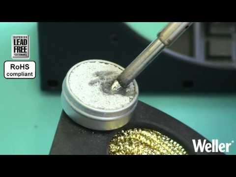 Weller How to use a Soldering Tip Activator - Application Video