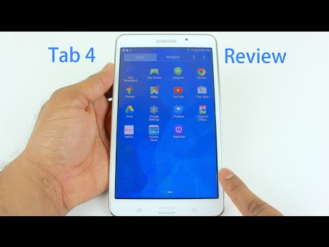 Samsung Galaxy Tab 4 7.0 Review   with Latest Firmware Update   and Camera Test
