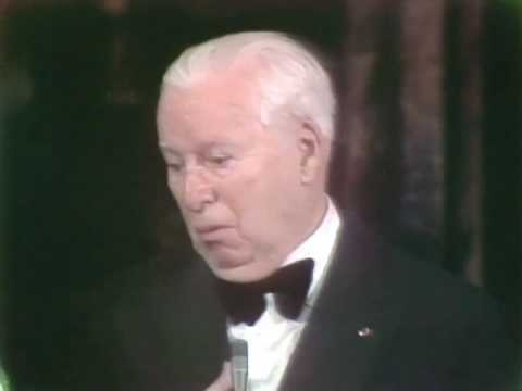 Charlie Chaplin Receiving An Honorary Oscar® video
