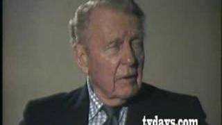 RALPH BELLAMY on JOHN FORD COLUMBIA PICTURES PART 2