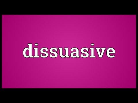 Header of dissuasive
