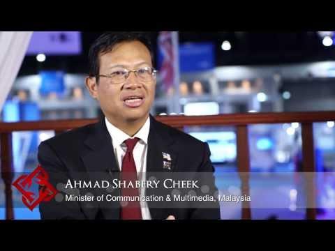Malaysian Minister of Communication & Multimedia Ahmad Shabery Cheek on Malaysia's ICT sector