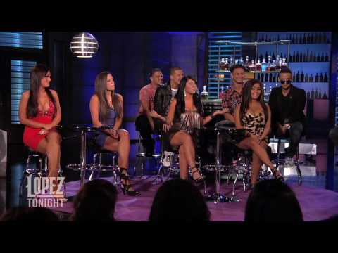 The  Jersey Shore  Cast on Lopez Tonight
