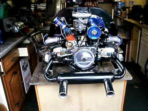 Chrome Black Blue Vw Volkswagen Beetle Camper 1600cc Ad
