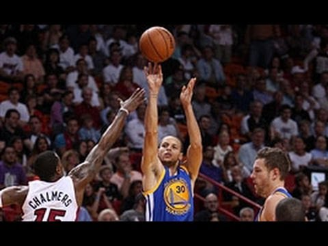 Stephen Curry's Hot Hand Burns LeBron and the Heat