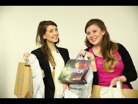ZOELLA SHOPPING HAUL WITH SPRINKLE OF GLITTER