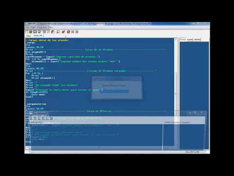 Video 6 - Curso Programación de juegos con Blitz 3d - Array - 2 parte