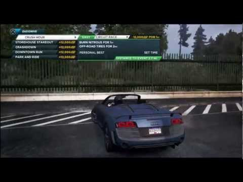 Audi R8 GT Spyder - Review/Gameplay NFS: Most Wanted 2012 - NFS001