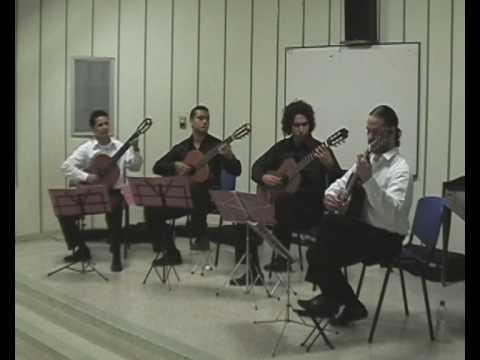 Michel, Pasillo de Gentil Montaña - Cuarteto de Guitarras