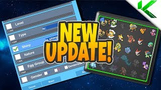 NEW SEARCH IN PC UPDATE + MORE! - Pokemon Brick Bronze