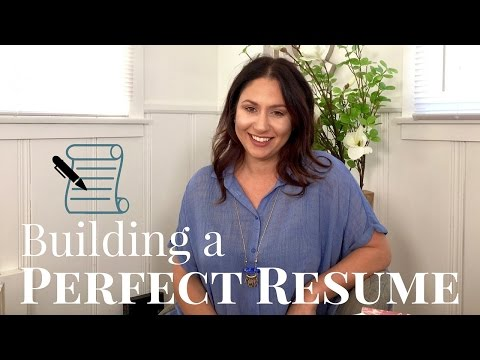 Tips for Building a Perfect Resume! | The Intern Queen
