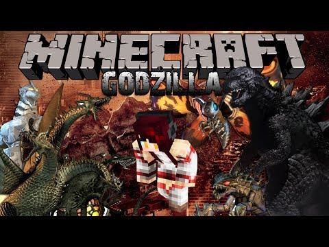 Minecraft รีวิว MOD : GODZILLA