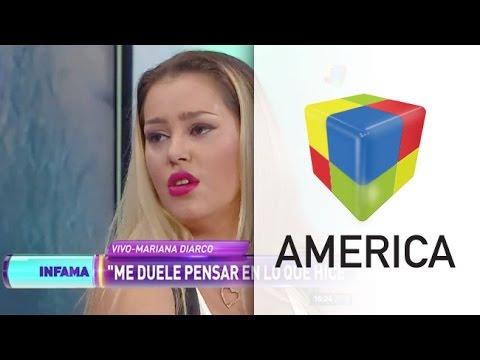 El drama de Mariana Diarco: Me quise tirar desde un balcón