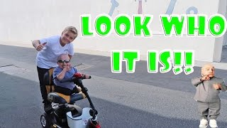 """""""MINI ME"""" (VERNE TROYER) ON HOVERBOARD & SCOOTERS!"""
