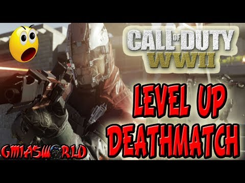 TEAM DEATHMATCH BONANZA I'M LEVELING UP BOSS CALL OF DUTY: WWII FUNNY GAMEPLAY