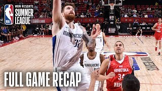 CROATIA vs MAVERICKS | Shayne Whittington Drops 19 For Dallas | MGM Resorts NBA Summer League