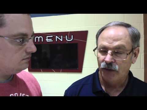Bishop Dwenger High School football coach Chris Svarczkopf