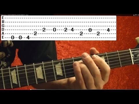 BREAKING THE LAW - Judas Priest - Easy Guitar Lesson
