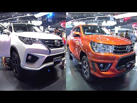 2016, 2017 Toyota Fortuner TRD Sportivo VS 2016, 2017 Toyota Hilux Revo TRD Sportivo