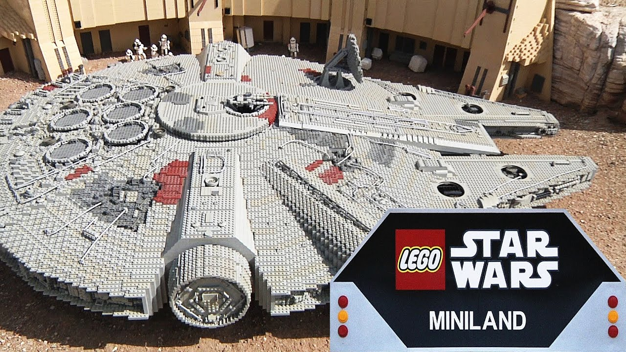 Lego star wars miniland at legoland california full for Star wars museum california