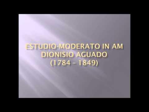 Dionisio Aguado - Etude - Moderato In Am