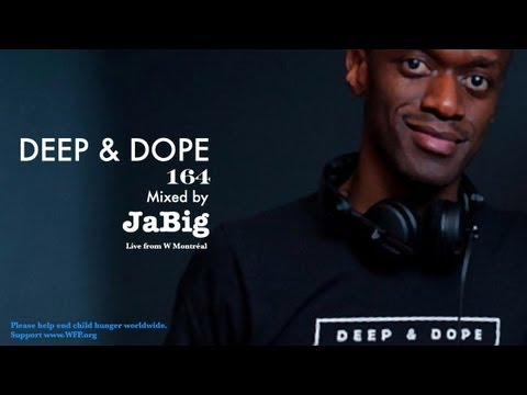Live Deep Soulful Jazzy Afro Brazilian Latin House Music DJ Mix by JaBig - DEEP & DOPE 164