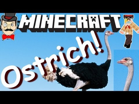 Minecraft Mods - OSTRICH FARM ! Ride Ostriches Mod !