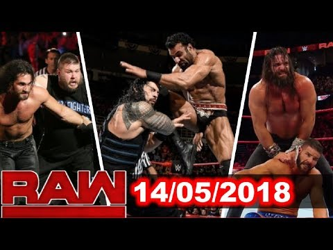 WWE Monday Night Raw 14/05/2018 Highlights , Results And Preview