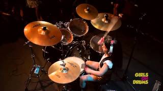 Eduarda Henklein (5 years old ) cover Drum /System Of A Down - Chop Suey