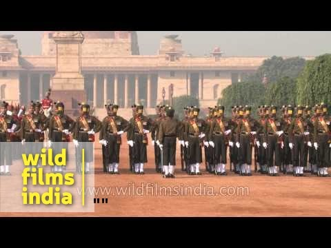 Precision Drill Performance at the Changing of the Guard, Rashtrapati Bhavan