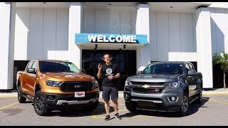 WHICH truck should you BUY? 2019 Ford Ranger or Chevy Colorado