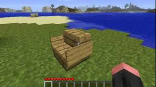 Minecraft: How to make a chair