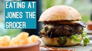 Eating At Jones The Grocer (Vlog #112) #InAbuDhabi