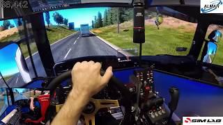 euro truck simulator 2 / starting again / 1.32 update/ day 2