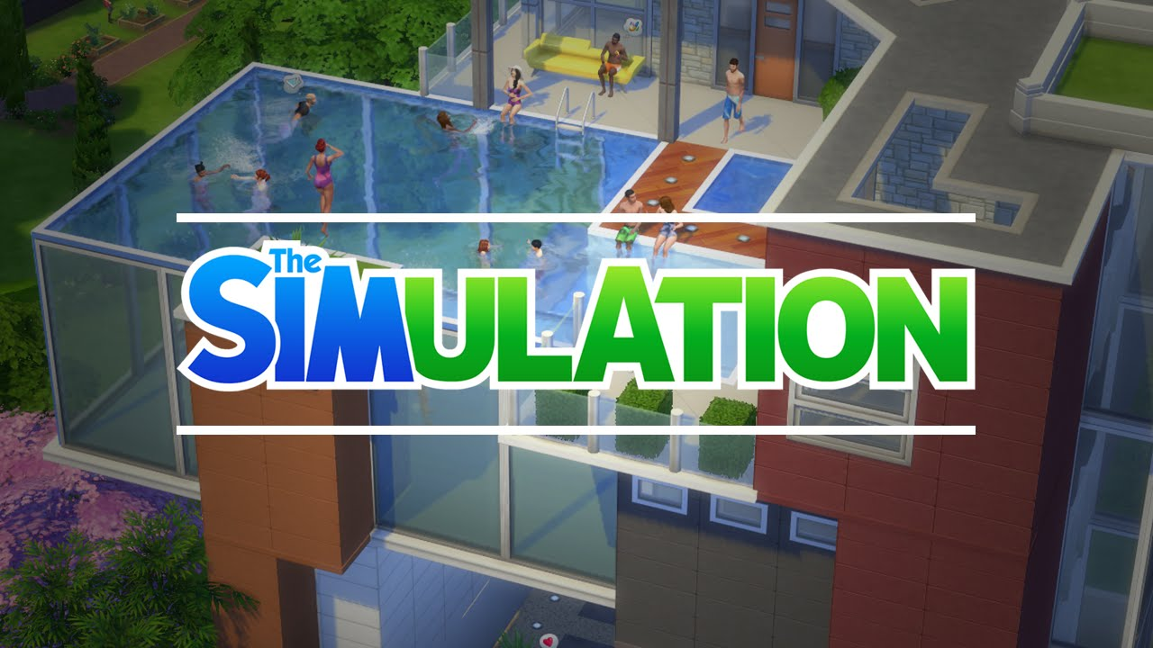 Building Rooftop Pools Sims