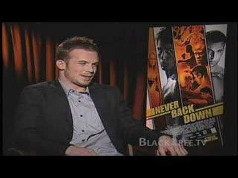 'Never Back Down' - Cam Gigandet on