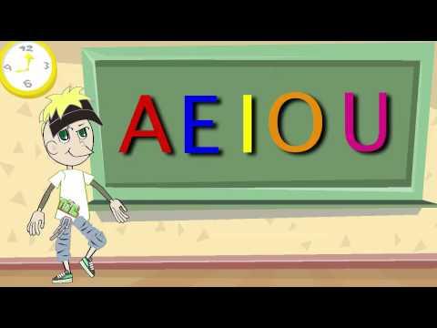 La Canción de las Vocales - A E I O U - Educación Infantil...