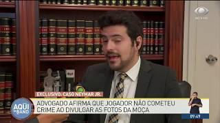 Neymar não cometeu crime ao vazar conversa, diz advogado