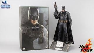 最后的本蝙?HT正义联盟轻甲蝙蝠侠【涛哥测评】HOT TOYS Justice League Batman unboxing review