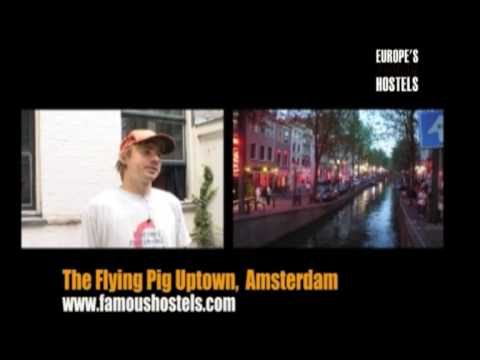 Flying Pig Hostel Video - Famous Hostel in Amsterdam