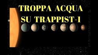 TROPPA ACQUA SU TRAPPIST-1, PER QUESTO NIENTE VITA