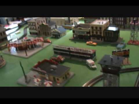 O-Scale Model Train Layout for Sale Video