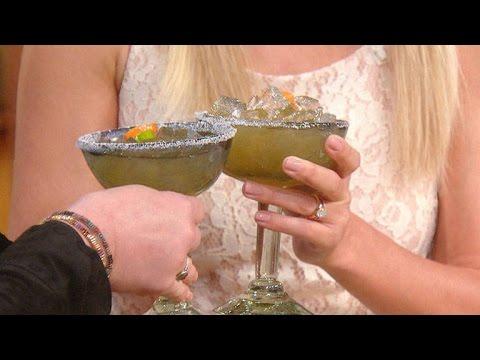Lauren Conrad's Peach Habanero Margarita