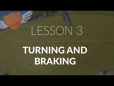 How-to Fly FPV Quadcopter/Drone // Beginner: Lesson 3 // Turning and Braking #1