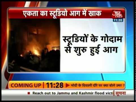 Massive fire at Ekta Kapoor's 'Ye Hai Mohabbatein' studio set