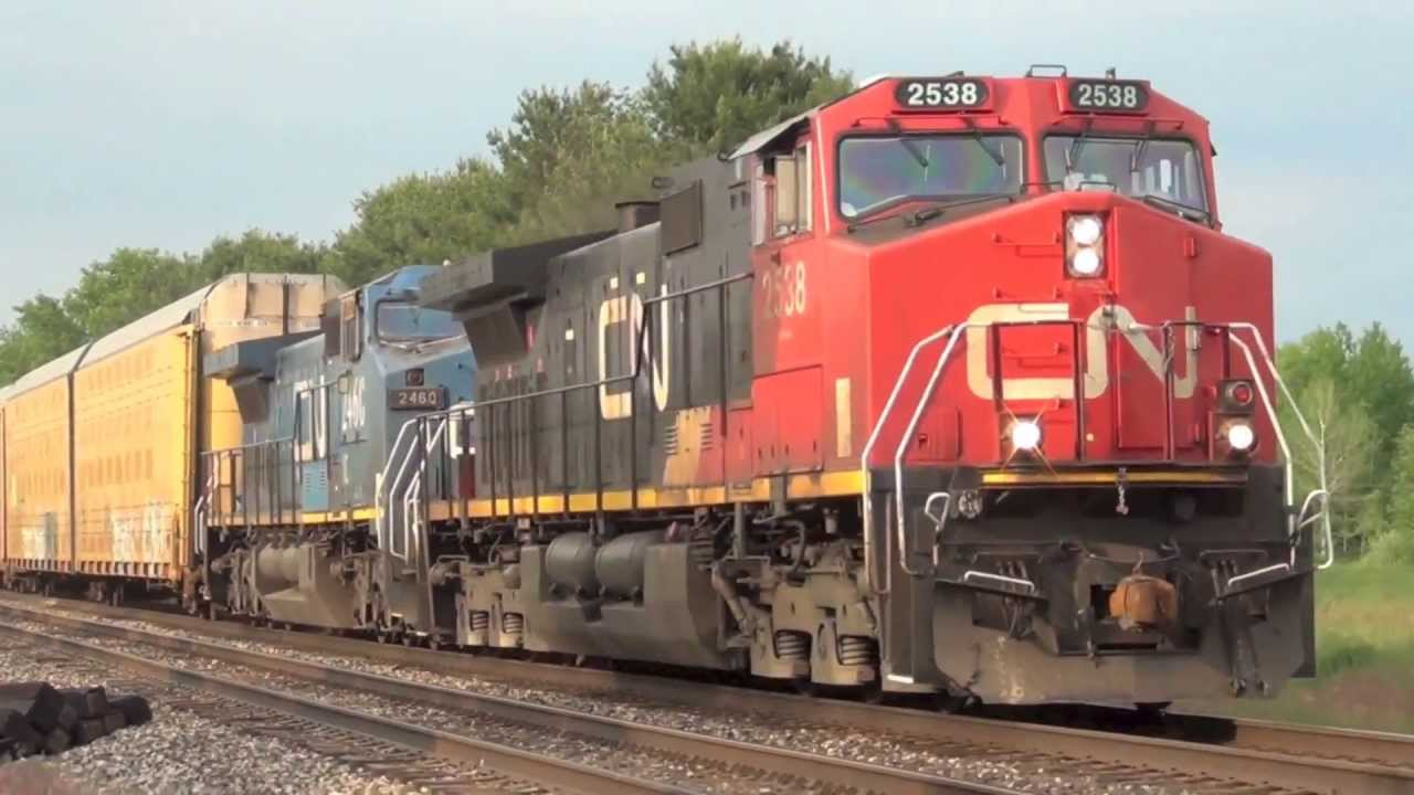 Trains For Children Cn Freight Trains Youtube