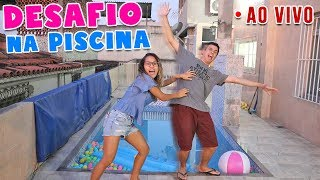 DESAFIO DA PISCINA! - AO VIVO! - KIDS FUN